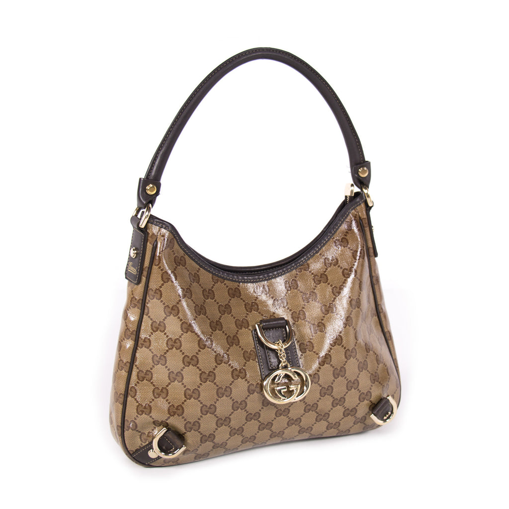 Gucci GG Patent Hobo Bags Gucci - Shop authentic new pre-owned designer brands online at Re-Vogue