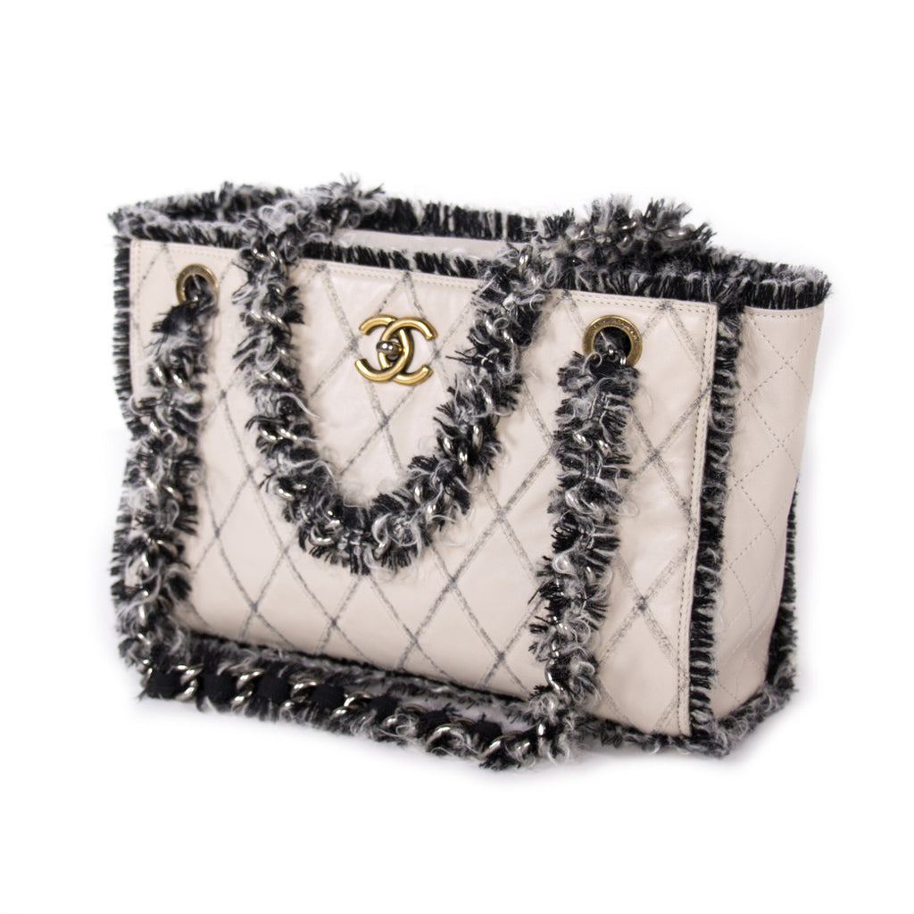 Chanel Tweedy Tote Bag Bags Chanel - Shop authentic new pre-owned designer brands online at Re-Vogue