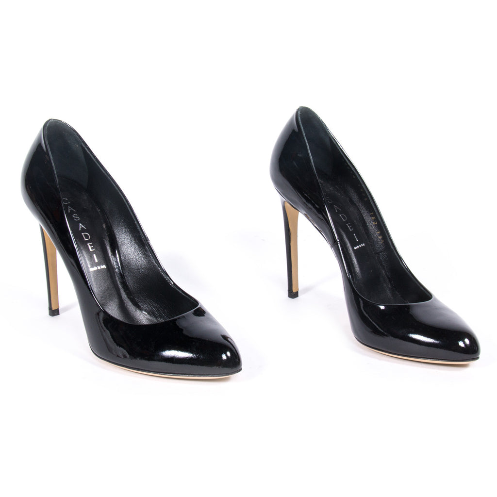Casadei Patent Pumps - revogue