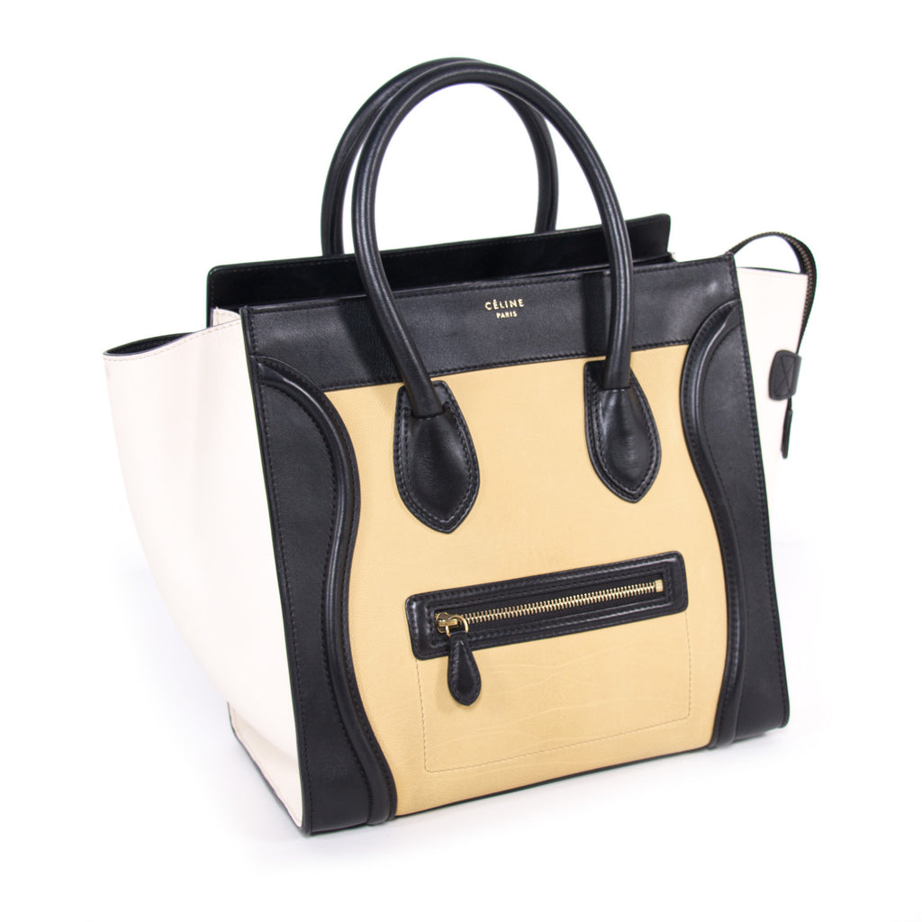 Celine Tricolor Mini Luggage Bags Celine - Shop authentic new pre-owned designer brands online at Re-Vogue