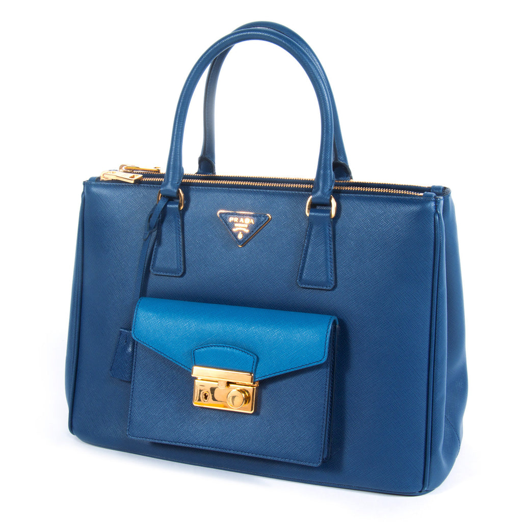 Prada Saffiano Lux Tote Cargo Bags Prada - Shop authentic new pre-owned designer brands online at Re-Vogue