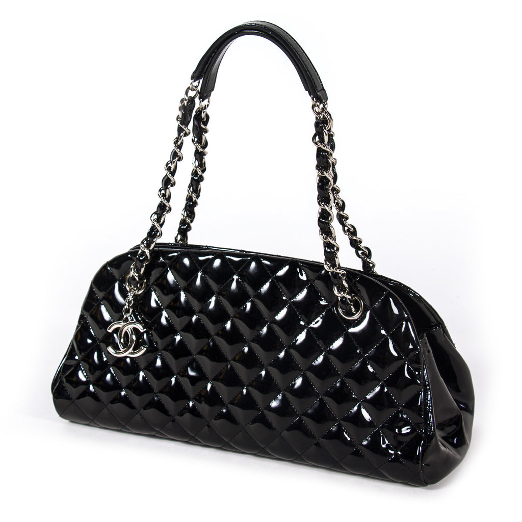 Chanel Just Mademoiselle Bowling Bag Bags Chanel - Shop authentic new pre-owned designer brands online at Re-Vogue