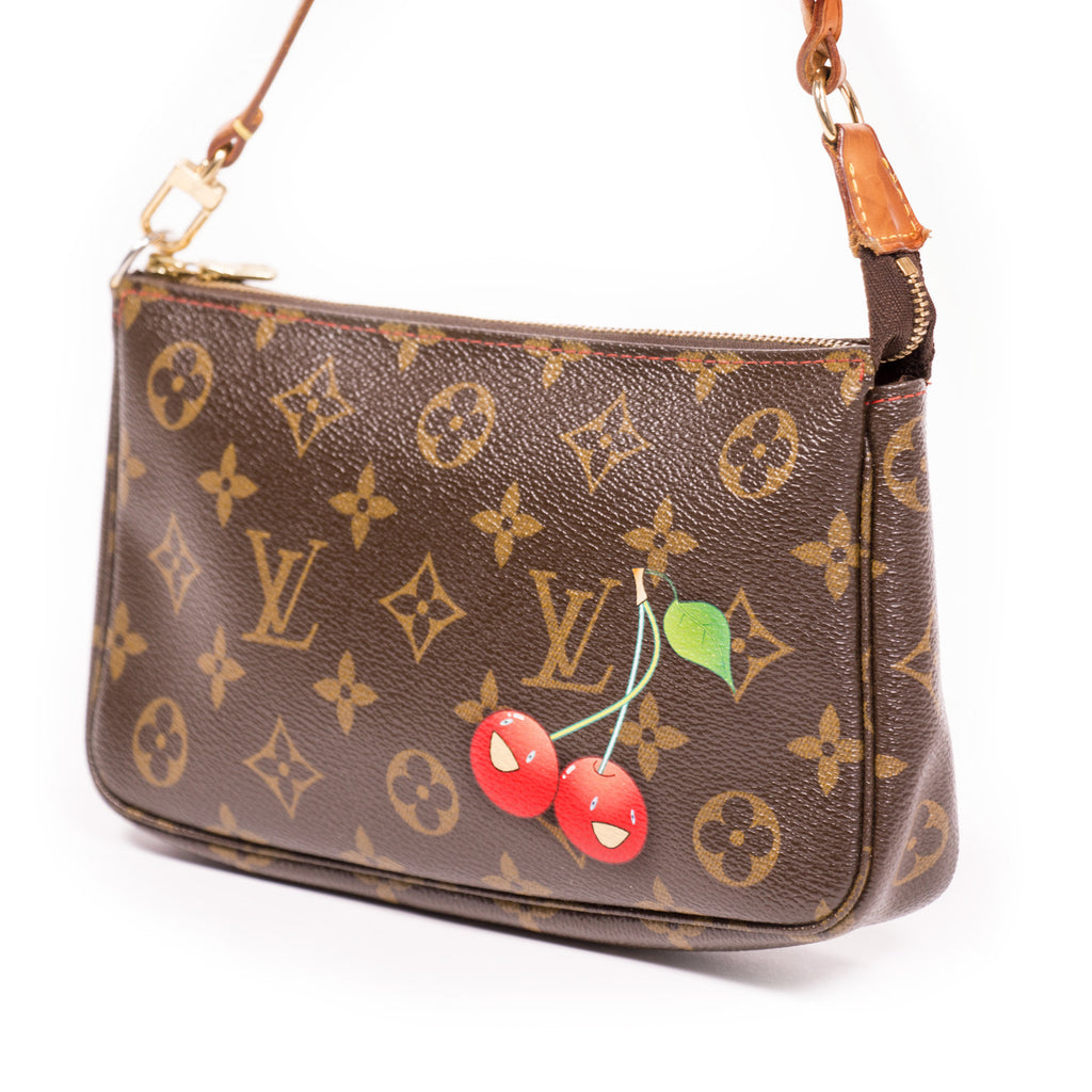 Louis Vuitton Monogram Cerises Pochette - revogue