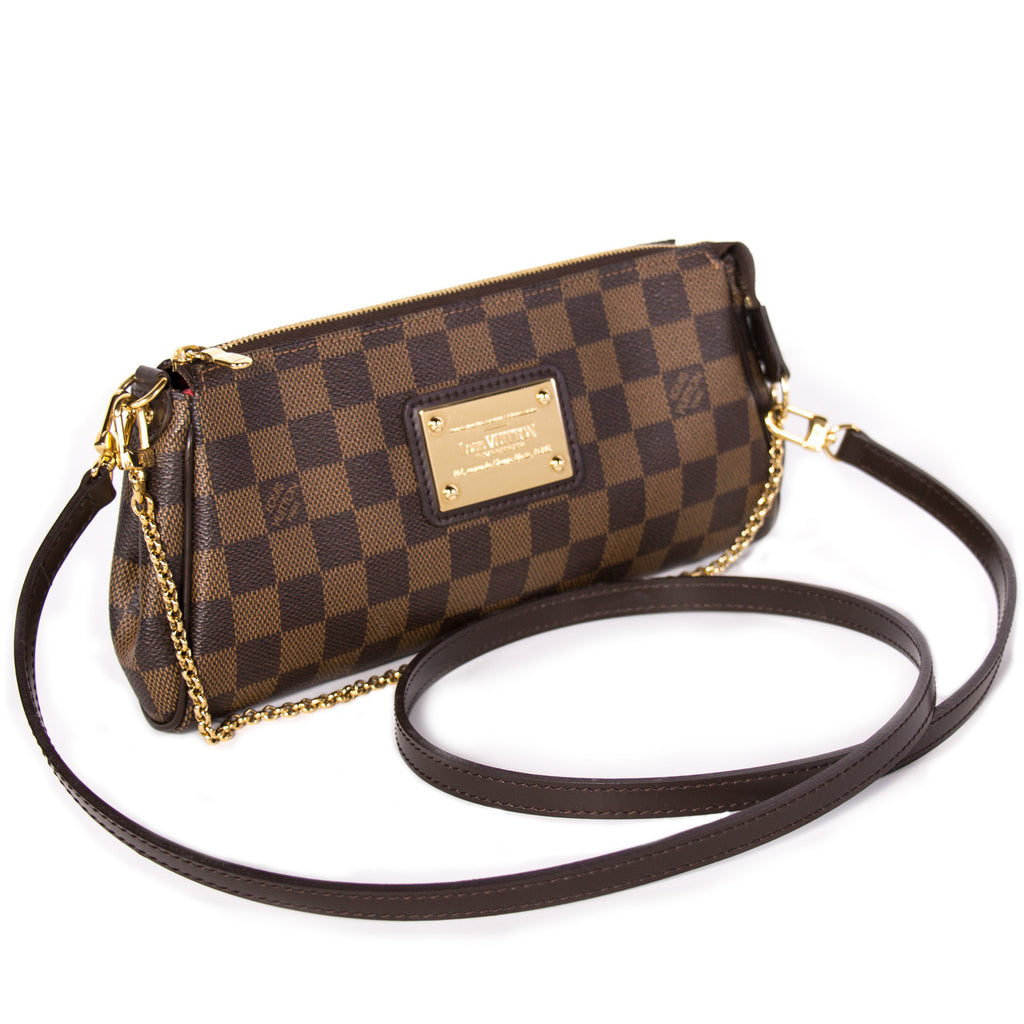 Louis Vuitton Damier Eva Clutch Bags Louis Vuitton - Shop authentic new pre-owned designer brands online at Re-Vogue