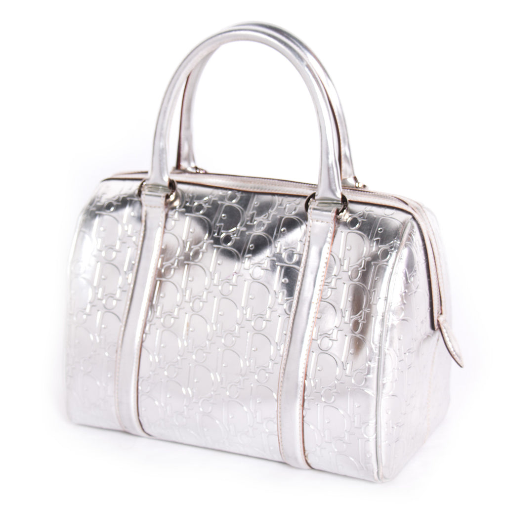 Christian Dior Metallic Boston Bag Bags Dior - Shop authentic new pre-owned designer brands online at Re-Vogue