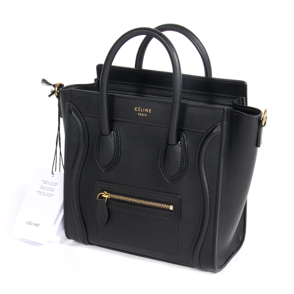 Celine Nano Luggage Tote Bags Celine - Shop authentic pre-owned designer brands online at Re-Vogue