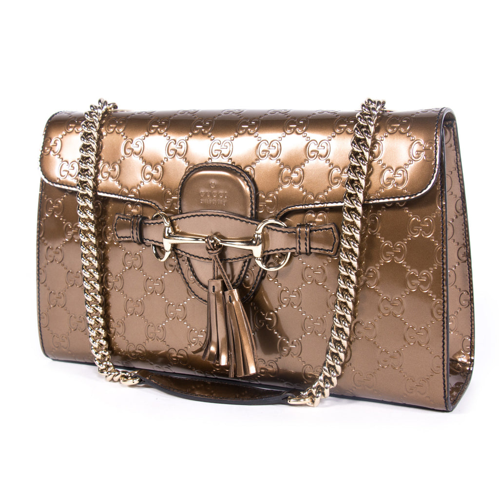 Gucci Emily Guccissima Bag Bags Gucci - Shop authentic new pre-owned designer brands online at Re-Vogue