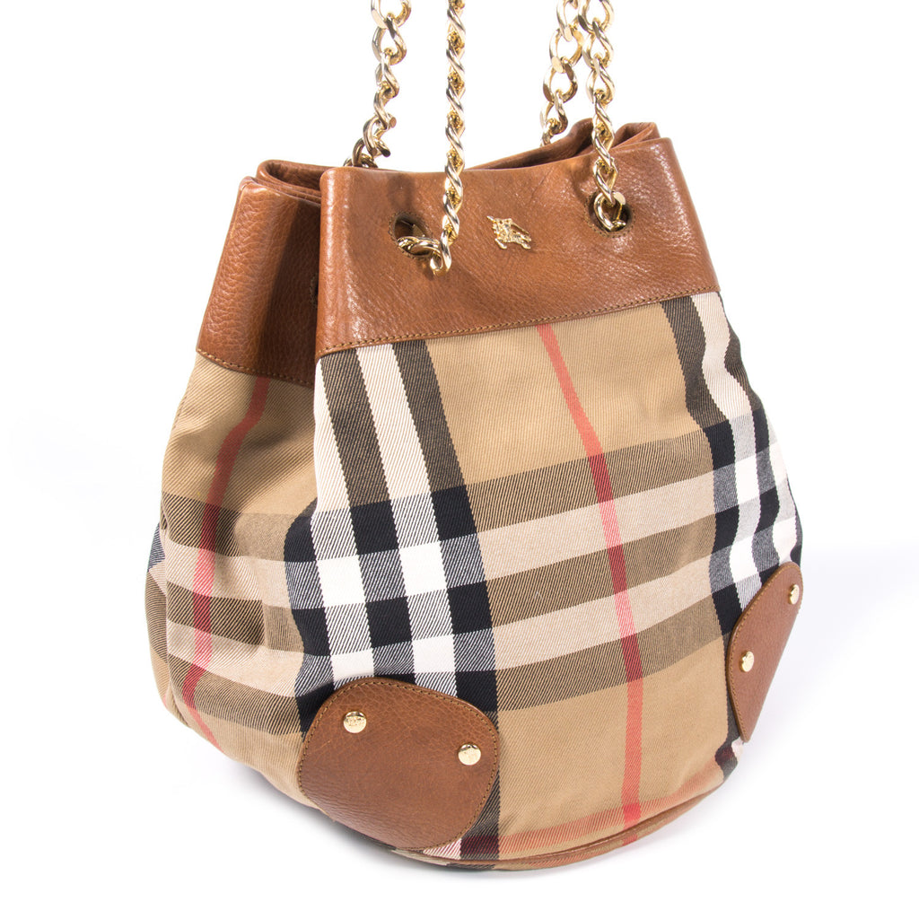 Burberry Bucket Bag Bags Burberry - Shop authentic new pre-owned designer brands online at Re-Vogue