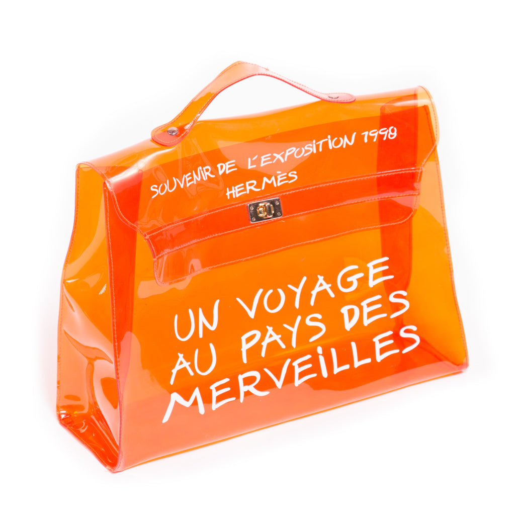 Hermes Vinyl Kelly Limited Edition -Shop pre-owned luxury designer brands on discount online at Re-Vogue