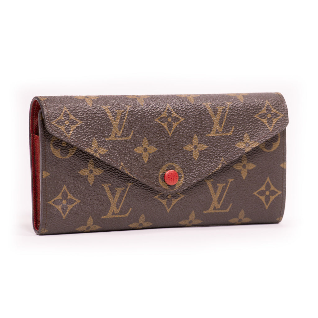 Louis Vuitton Josephine Wallet -Shop pre-owned luxury designer brands on discount online at Re-Vogue