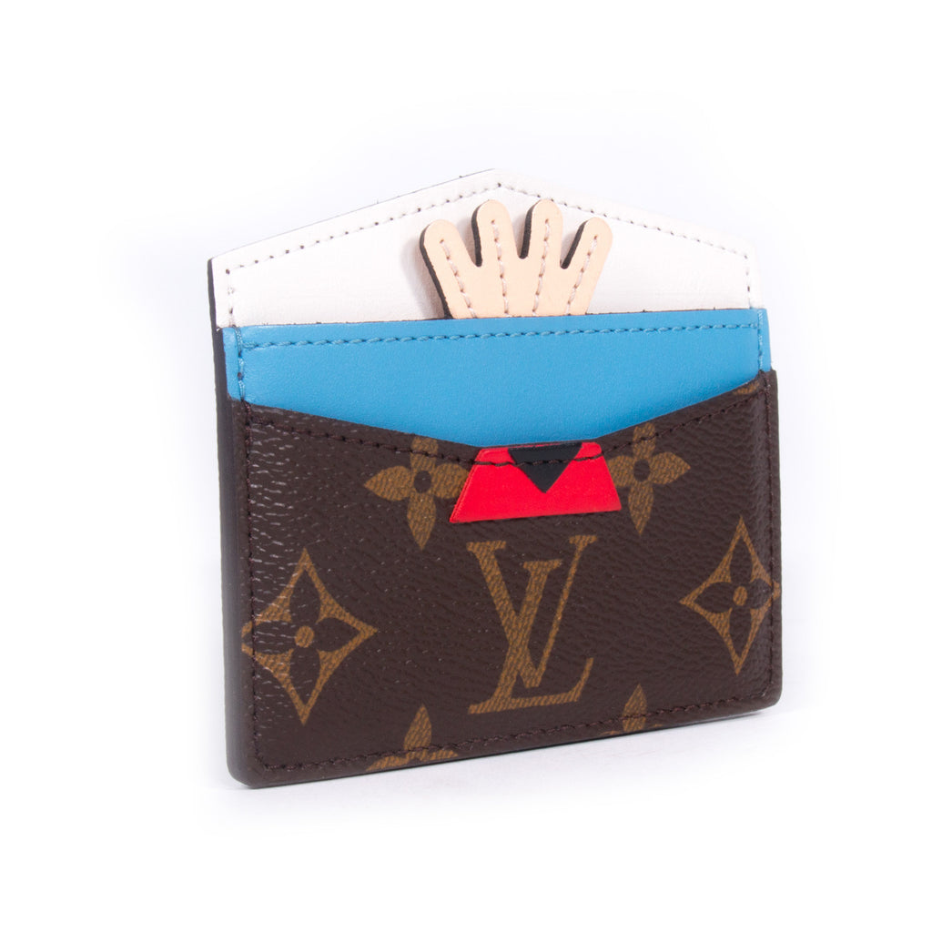 Louis Vuitton Tribal Mask Card Holder - revogue