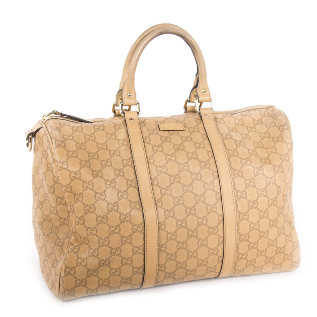 Gucci Guccissima Boston Bag Bags Gucci - Shop authentic new pre-owned designer brands online at Re-Vogue
