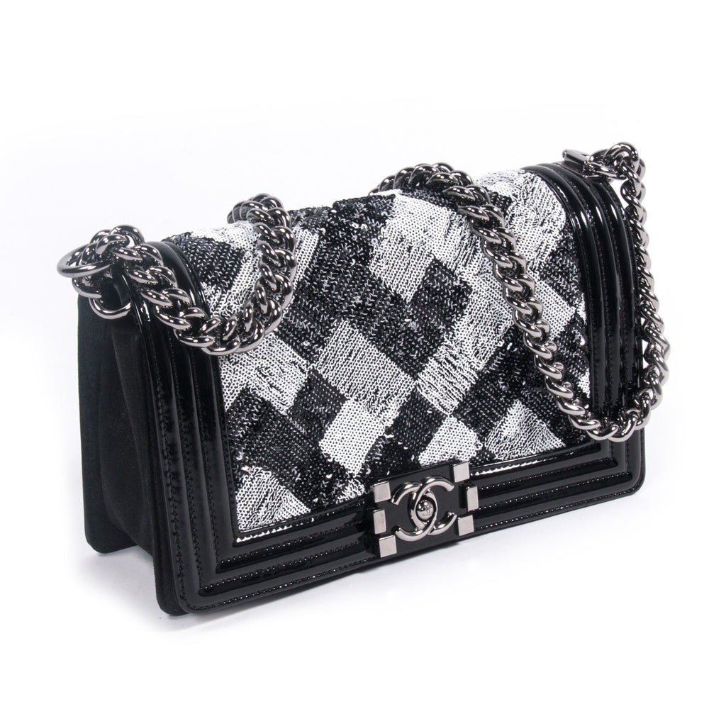 Chanel Sequin Boy Flap Bag Bags Chanel - Shop authentic new pre-owned designer brands online at Re-Vogue