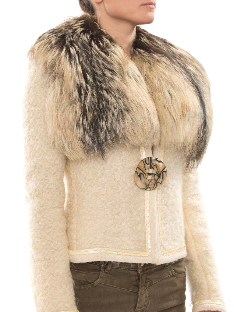 Dolce & Gabbana Mohair Jacket Jacket Dolce & Gabbana - Shop authentic new pre-owned designer brands online at Re-Vogue