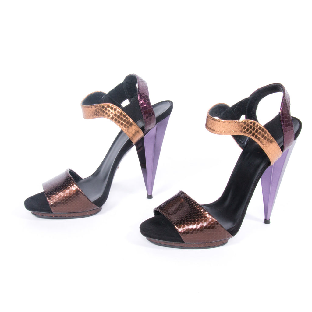 Gucci Snake Skin Sandals Shoes Gucci - Shop authentic pre-owned designer brands online at Re-Vogue