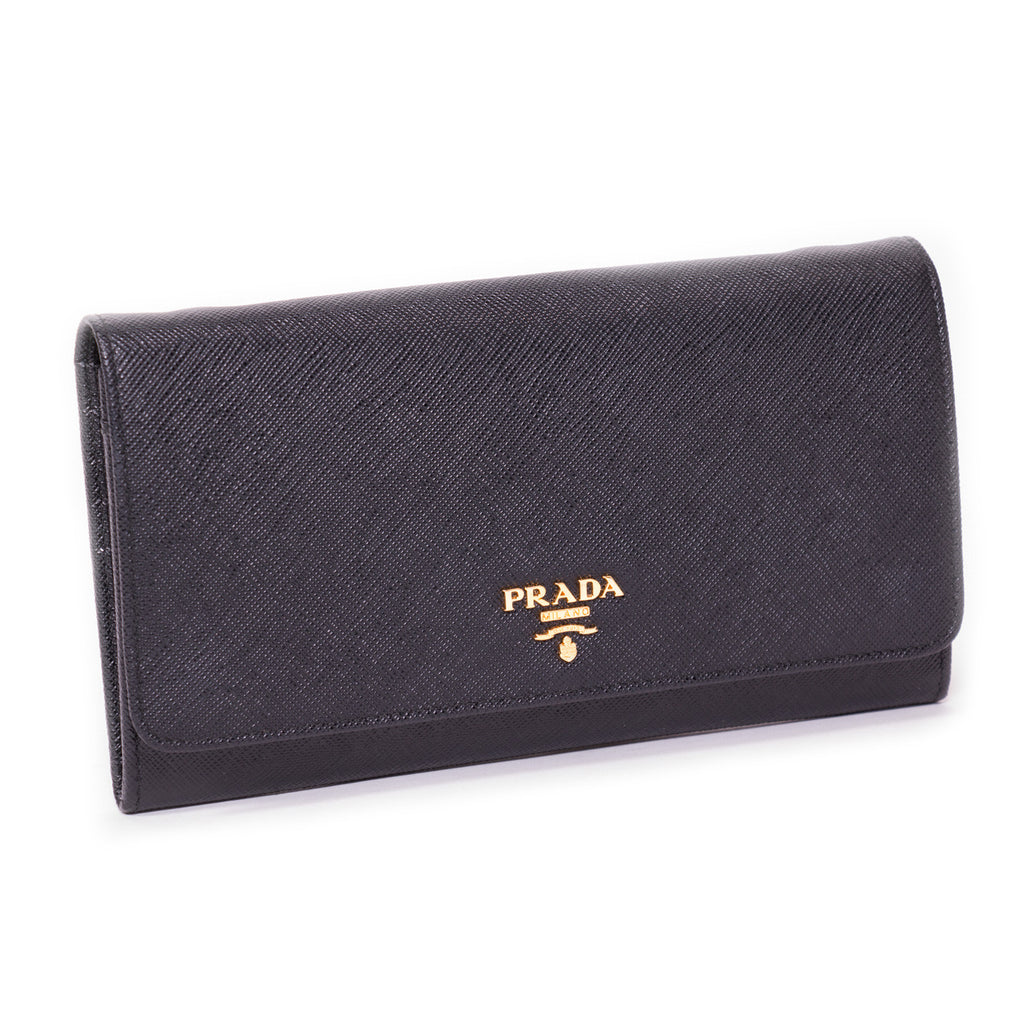 Prada Leather Chain Wallet