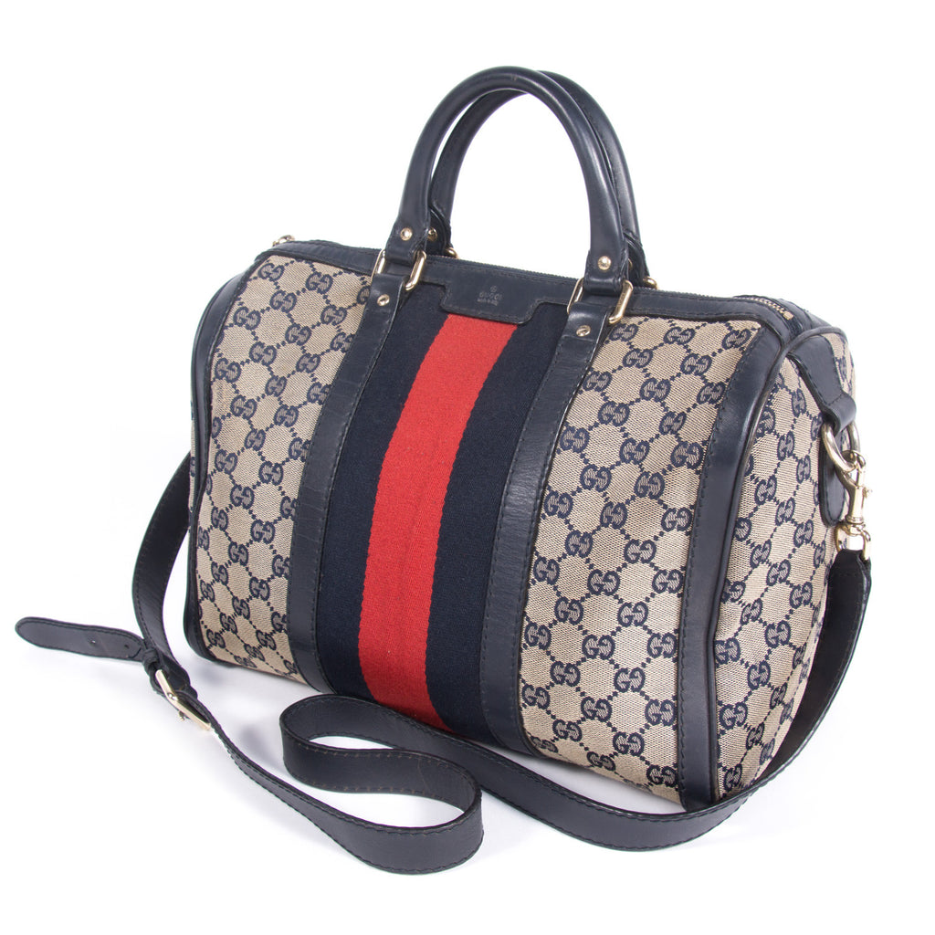 Gucci Web Original Boston Bag Bags Gucci - Shop authentic new pre-owned designer brands online at Re-Vogue