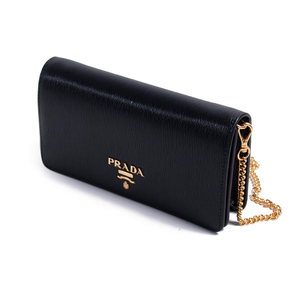 Prada Saffiano Wallet on Chain