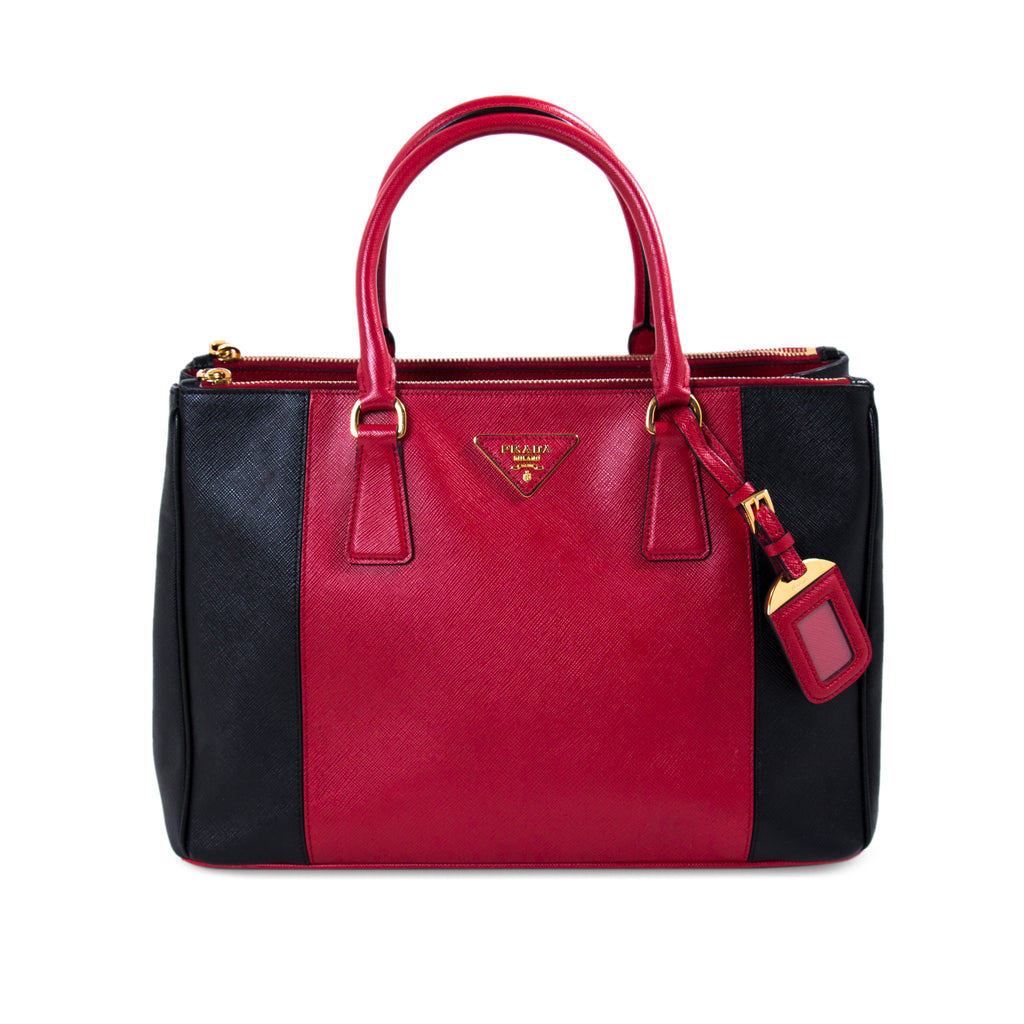 6fc8ba082b14 Shop authentic Prada Galleria Double Zip Tote Bag at revogue for ...