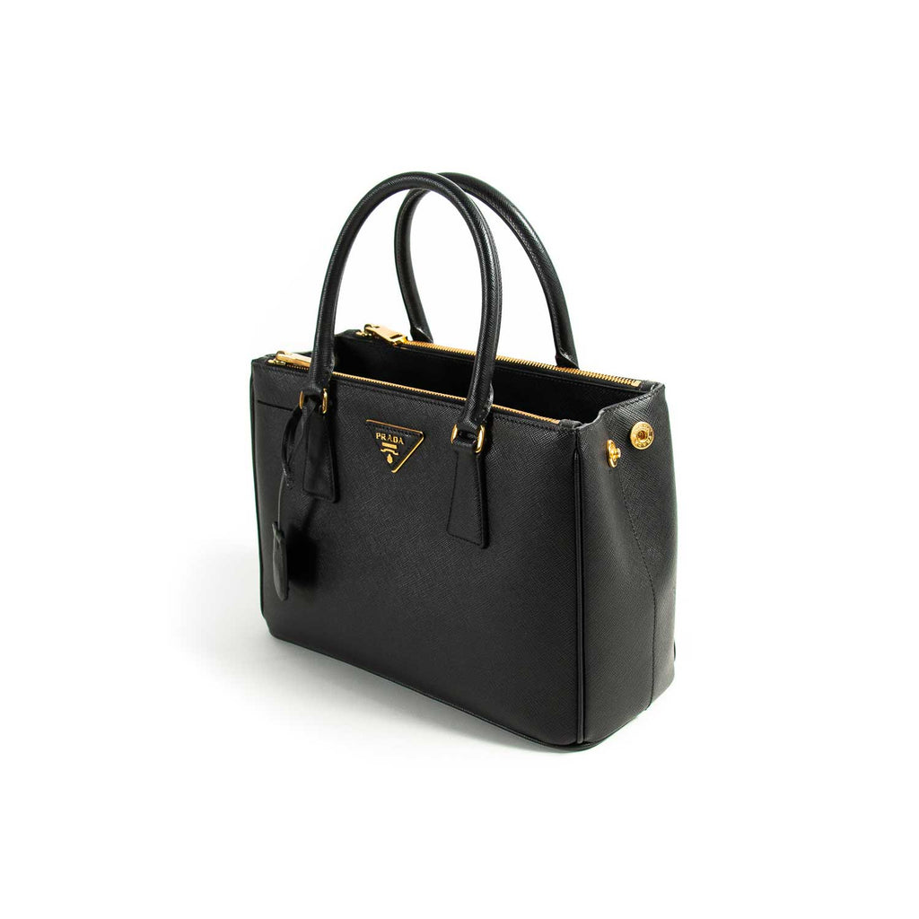 Prada Small Galleria Saffiano Double Zip Tote Bag Bags Prada - Shop authentic new pre-owned designer brands online at Re-Vogue