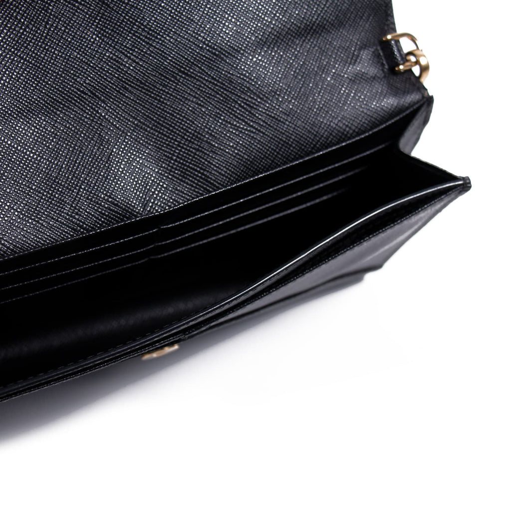 Prada Saffiano Envelope Mini Bag Bags Prada - Shop authentic new pre-owned designer brands online at Re-Vogue