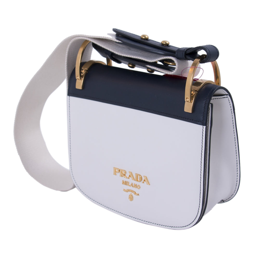 95f2e9a7de07 ... Prada Pionnière Leather Saddle Bag Bags Prada - Shop authentic new pre-owned  designer brands ...