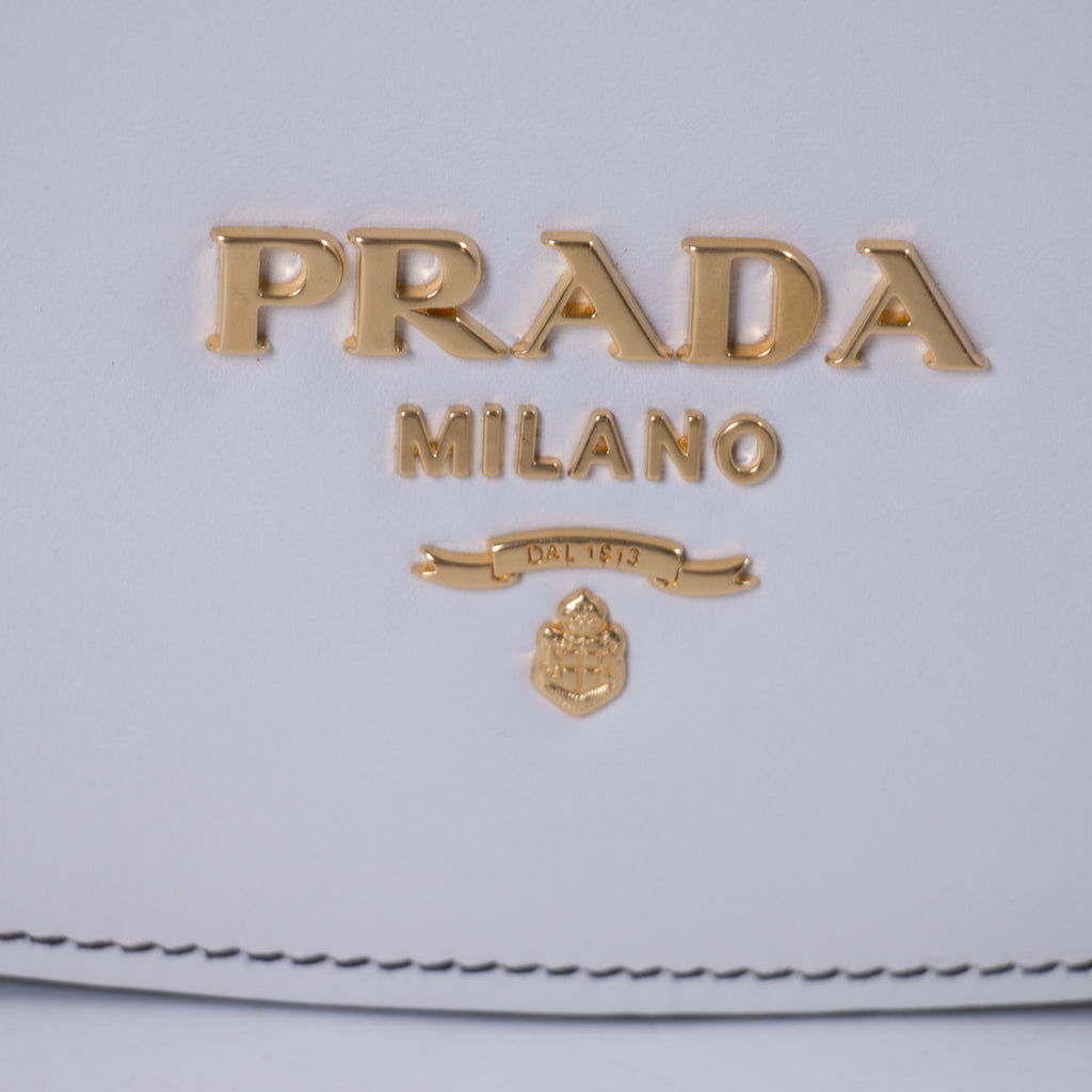 Prada Pionnière Leather Saddle Bag Bags Prada - Shop authentic new pre-owned designer brands online at Re-Vogue