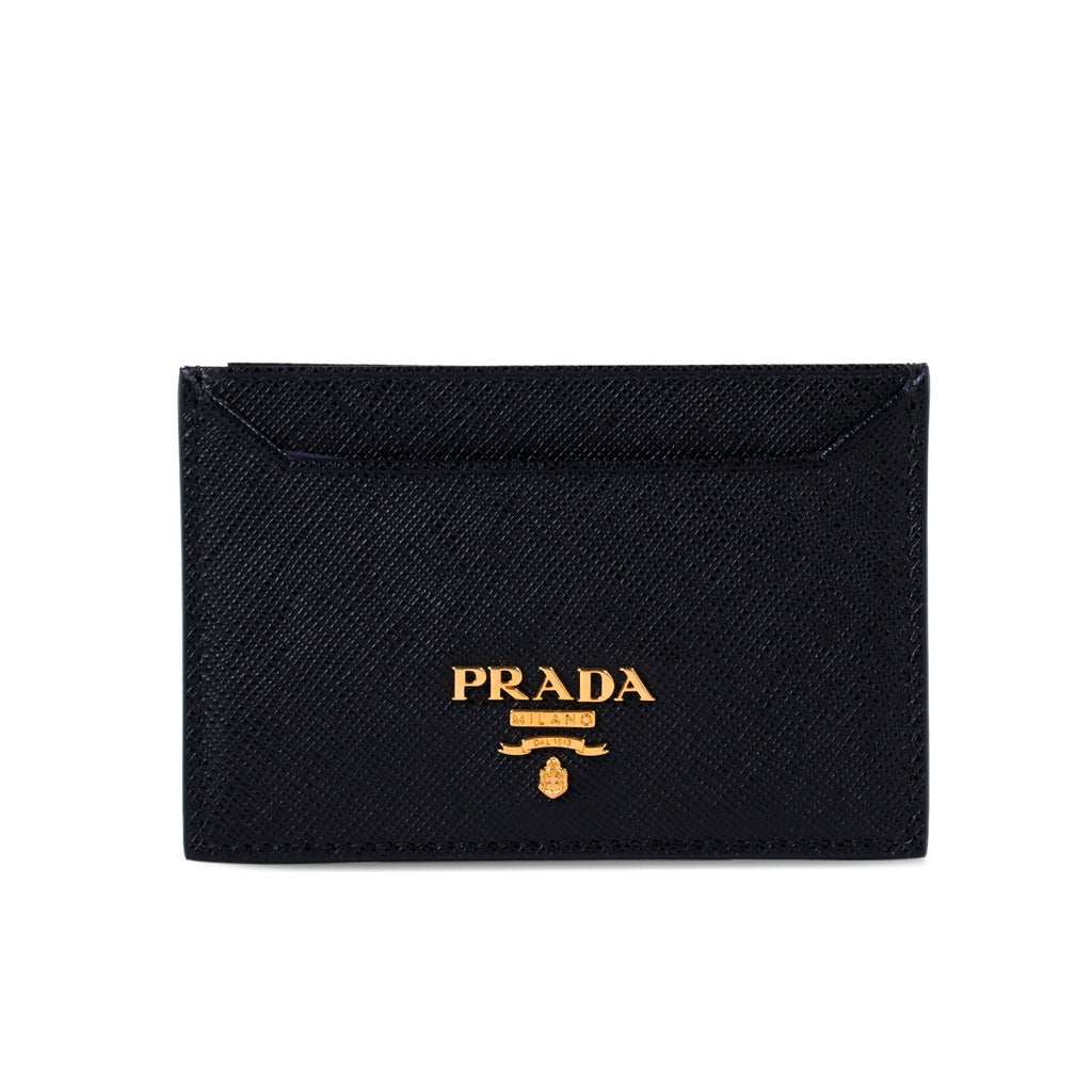 0624b3773a12 Shop authentic Prada Saffiano Leather Card Holder at revogue for ...