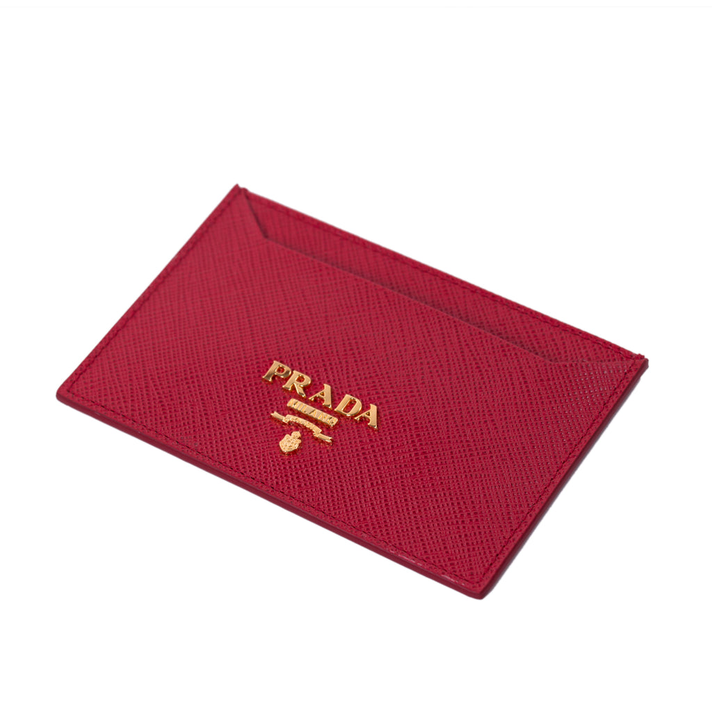 Prada Saffiano Leather Card Holder Bags Prada - Shop authentic new pre-owned designer brands online at Re-Vogue
