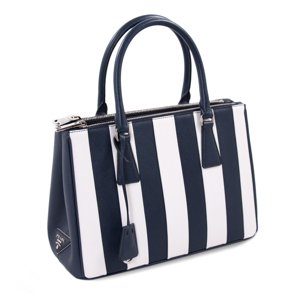 Prada Saffiano Lux Galleria Double Zip Tote Bags Prada - Shop authentic new pre-owned designer brands online at Re-Vogue