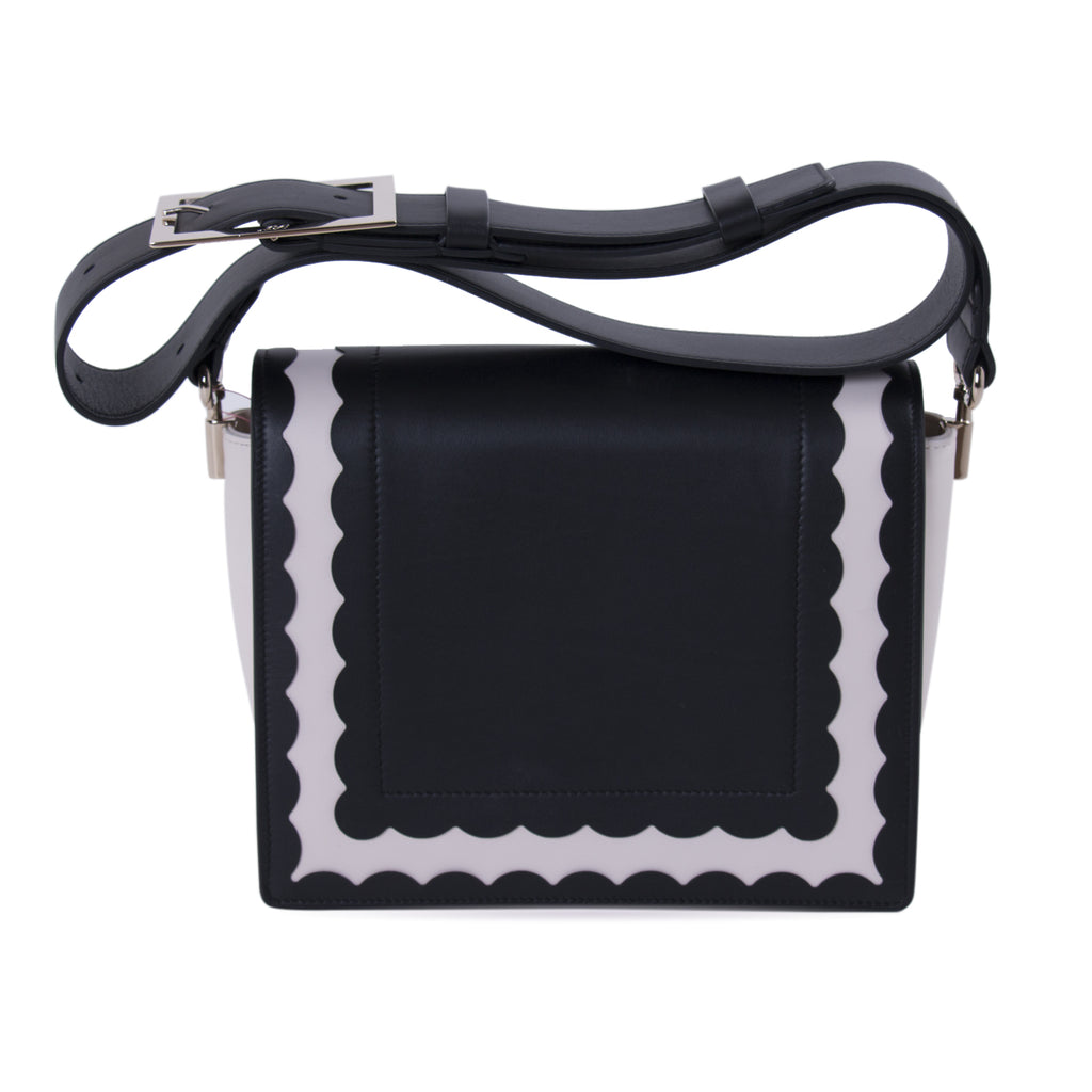 Roger Vivier Mini Viv' Scallops Shoulder Bag Bags Roger Vivier - Shop authentic new pre-owned designer brands online at Re-Vogue