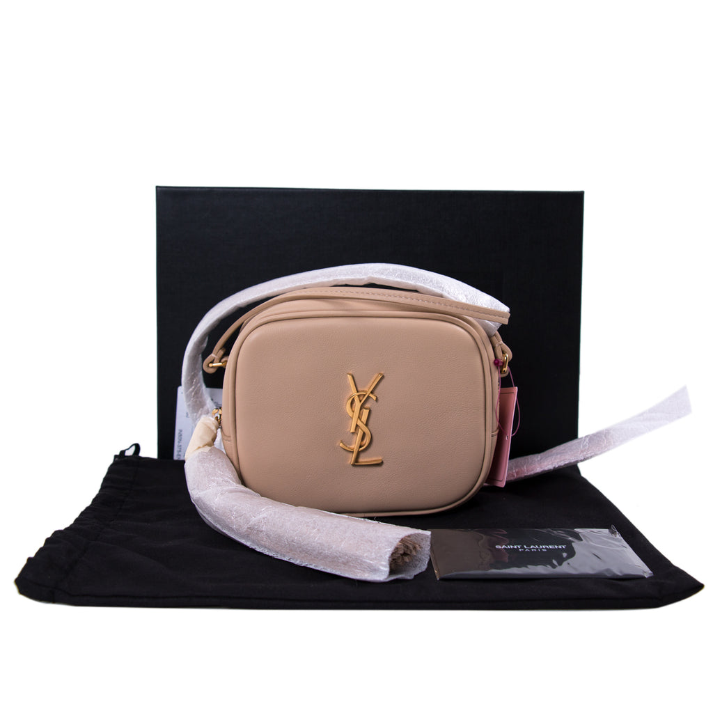 19cdf3461461 Shop authentic Saint Laurent Monogram Blogger Bag at revogue for ...