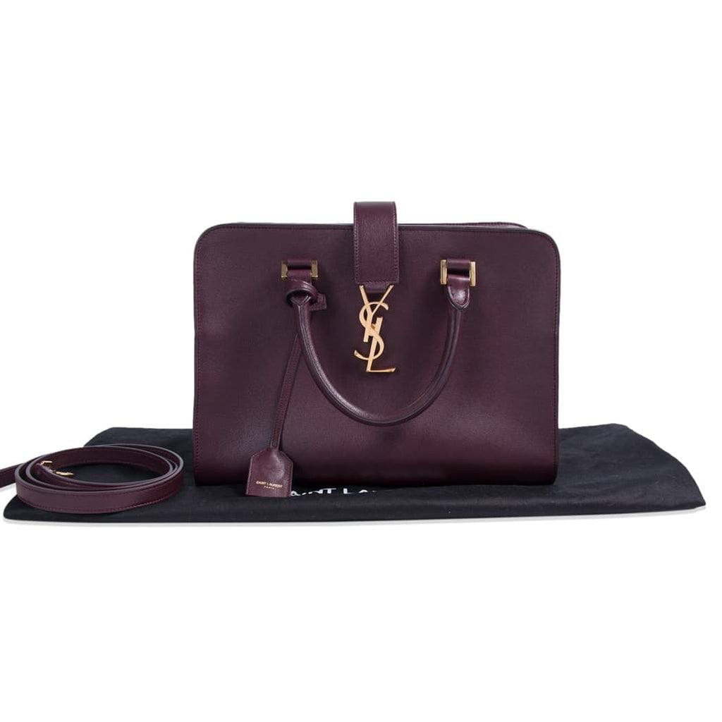 Saint Laurent Monogram Cabas Tote Bag Bags Yves Saint Laurent - Shop authentic new pre-owned designer brands online at Re-Vogue