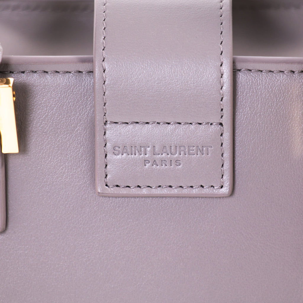 Saint Laurent Monogram Cabas Baby Leather Tote Bags Yves Saint Laurent - Shop authentic new pre-owned designer brands online at Re-Vogue