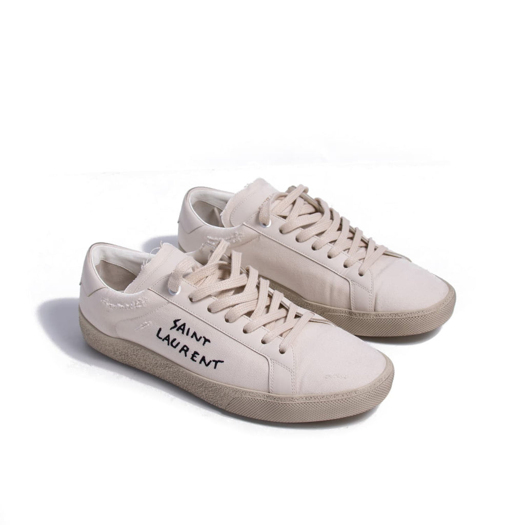 Saint Laurent Court Classic Sneakers Shoes Yves Saint Laurent - Shop authentic new pre-owned designer brands online at Re-Vogue
