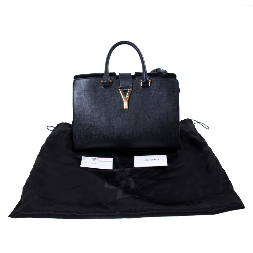 Saint Laurent OTL BO Ligne Y Satchel Bags Yves Saint Laurent - Shop authentic new pre-owned designer brands online at Re-Vogue