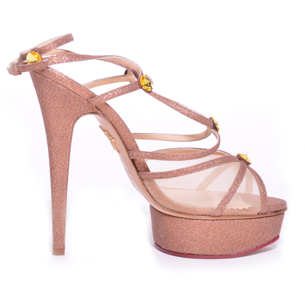 Charlotte Olympia Isadora Sandals Shoes Charlotte Olympia - Shop authentic new pre-owned designer brands online at Re-Vogue