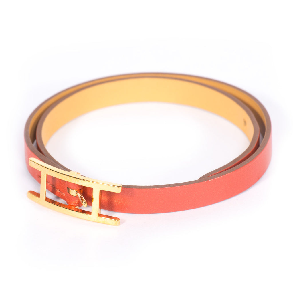 Hermes Behapi Double Tour Bracelet Accessories Hermes - Shop authentic new pre-owned designer brands online at Re-Vogue