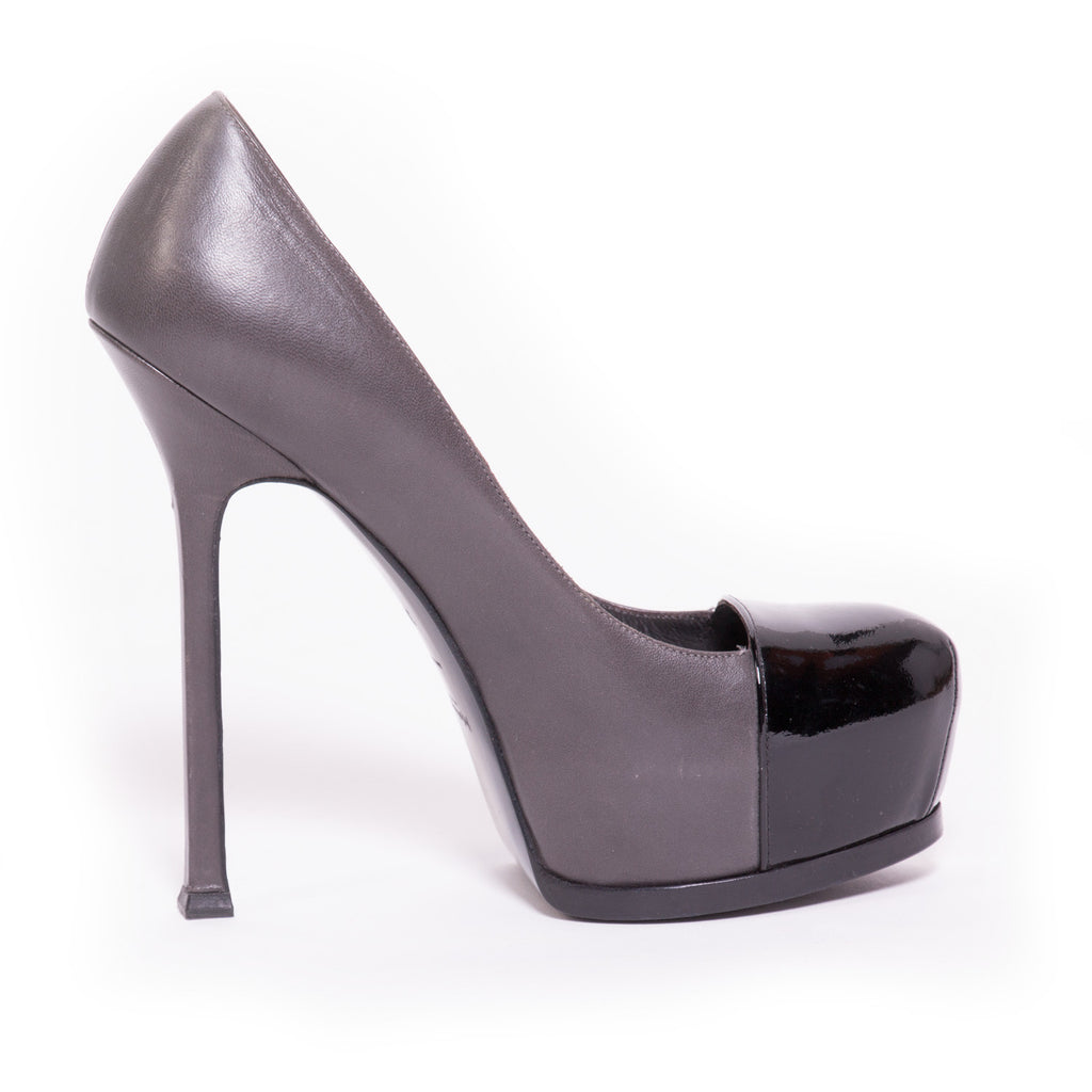 YSL Tribute Platform Shoes Yves Saint Laurent - Shop authentic new pre-owned designer brands online at Re-Vogue