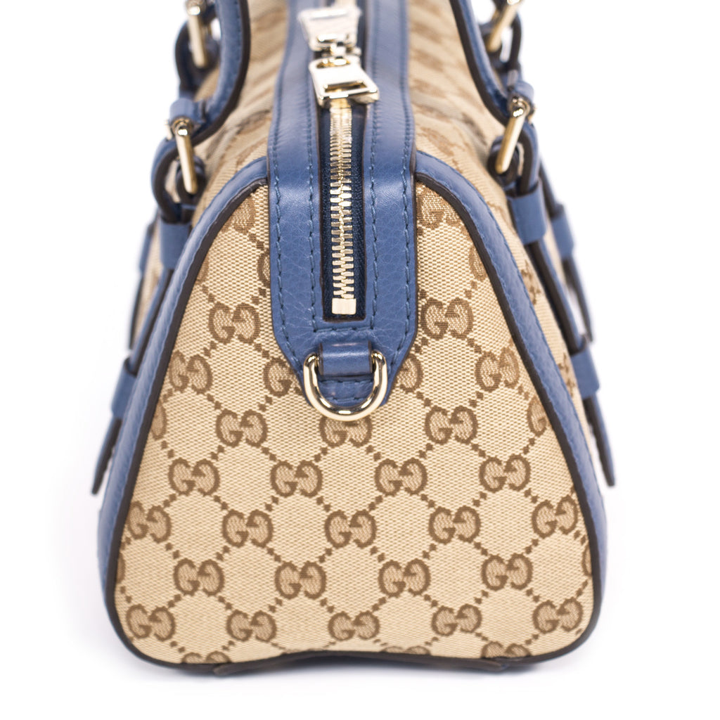 bea22ad5135d Shop authentic Gucci GG Small Boston Bag at revogue for just USD ...
