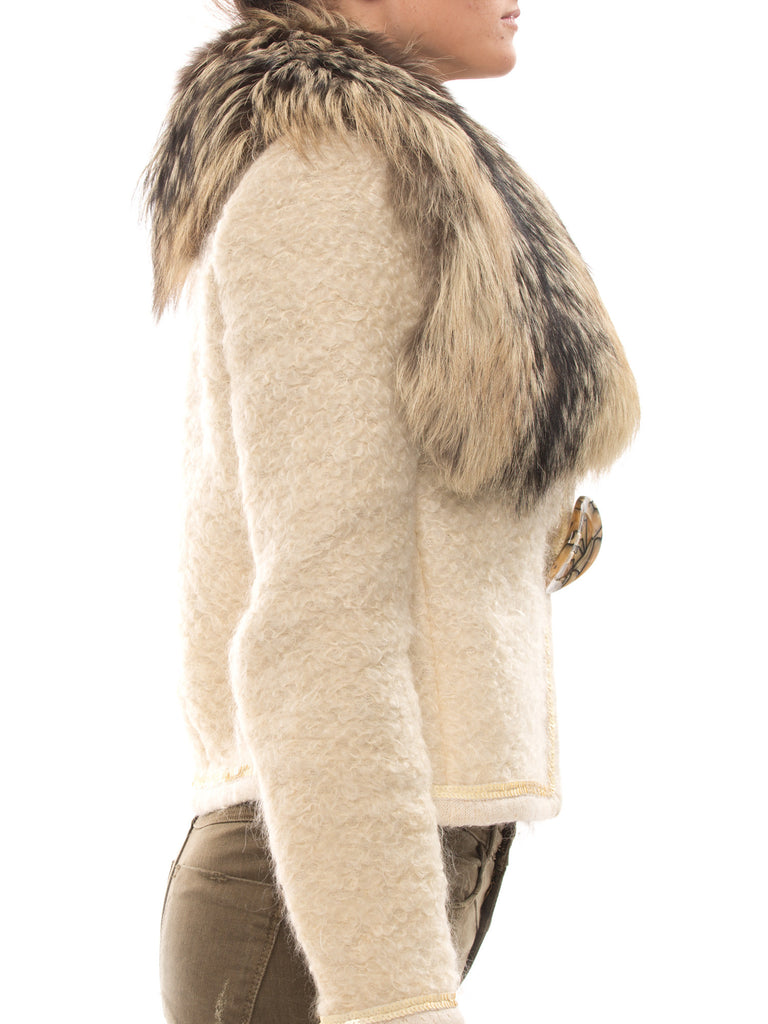 Dolce & Gabbana Mohair Jacket -Shop pre-owned luxury designer brands on discount online at Re-Vogue