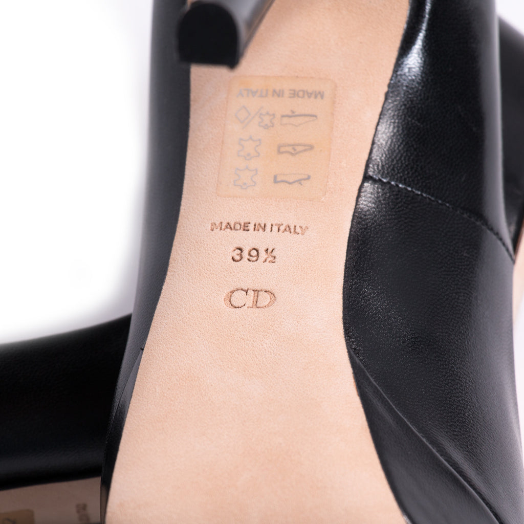 Christian Dior Leather Platform - revogue