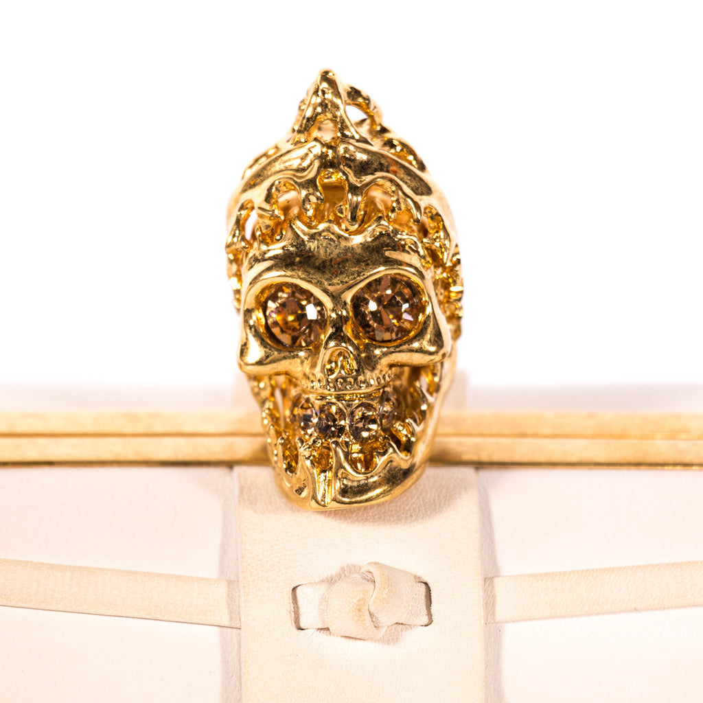 Alexander McQueen Skull Box Clutch Bags Alexander McQueen - Shop authentic new pre-owned designer brands online at Re-Vogue