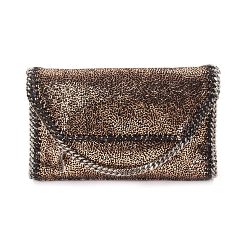 Elie Saab Stripped Clutch