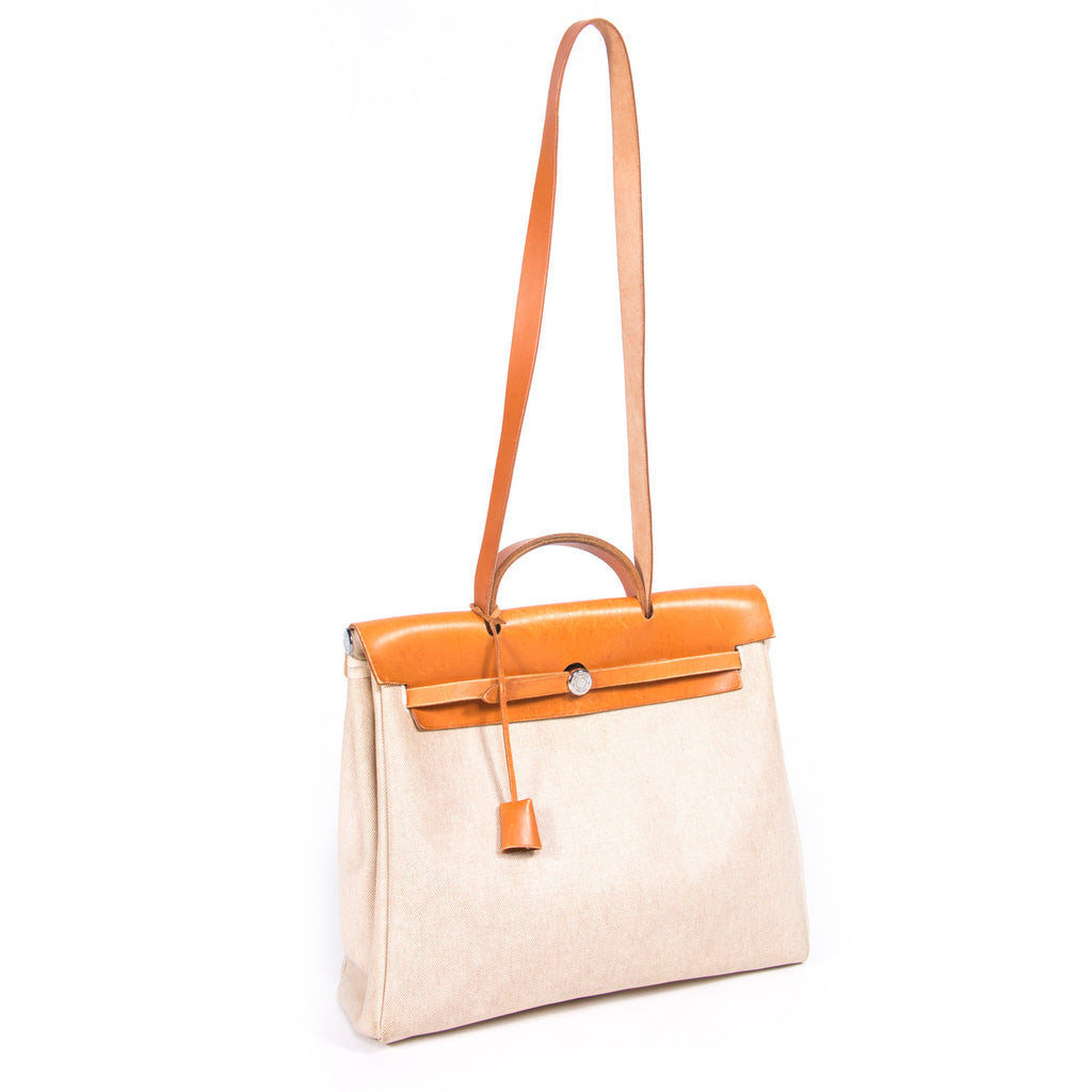 Hermes Herbag GM Bags Hermes - Shop authentic new pre-owned designer brands online at Re-Vogue