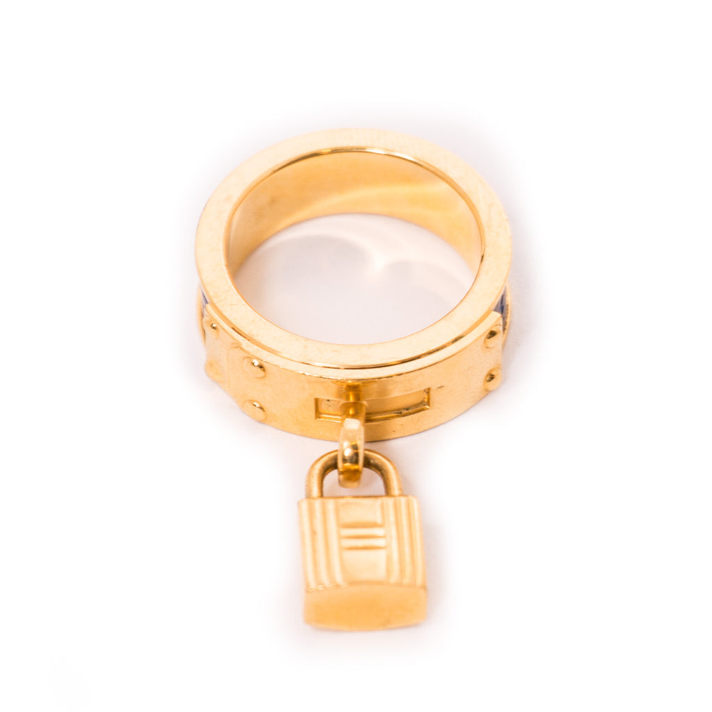 Hermes Kelly Cadena Ring Ring Hermes - Shop authentic new pre-owned designer brands online at Re-Vogue