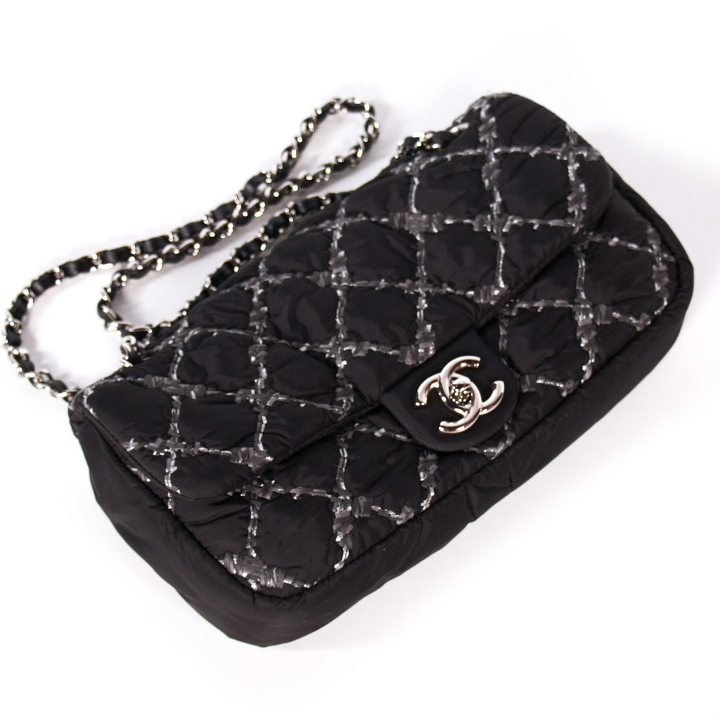 0081491f01b7 ... Chanel Nylon Tweed Stitch Bubble Flap Bags Chanel - Shop authentic new  pre-owned designer ...