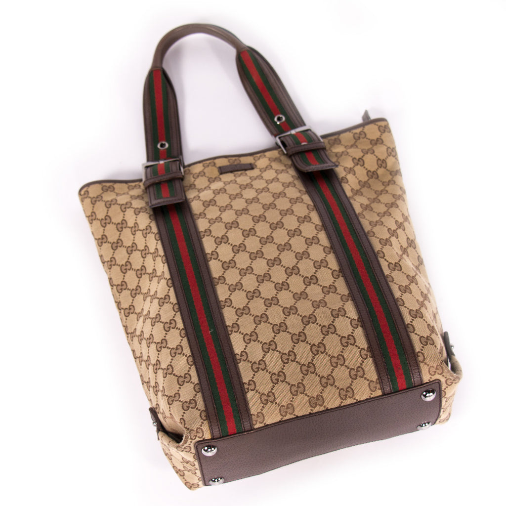 Gucci GG Canvas Tote Bags Gucci - Shop authentic new pre-owned designer brands online at Re-Vogue