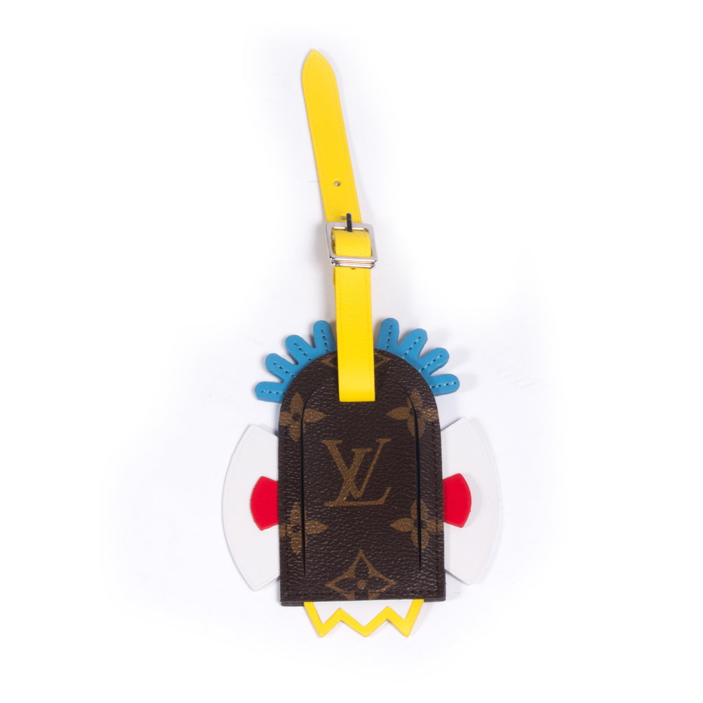 Louis Vuitton Tribal Mask Luggage Tag Accessories Louis Vuitton - Shop authentic new pre-owned designer brands online at Re-Vogue