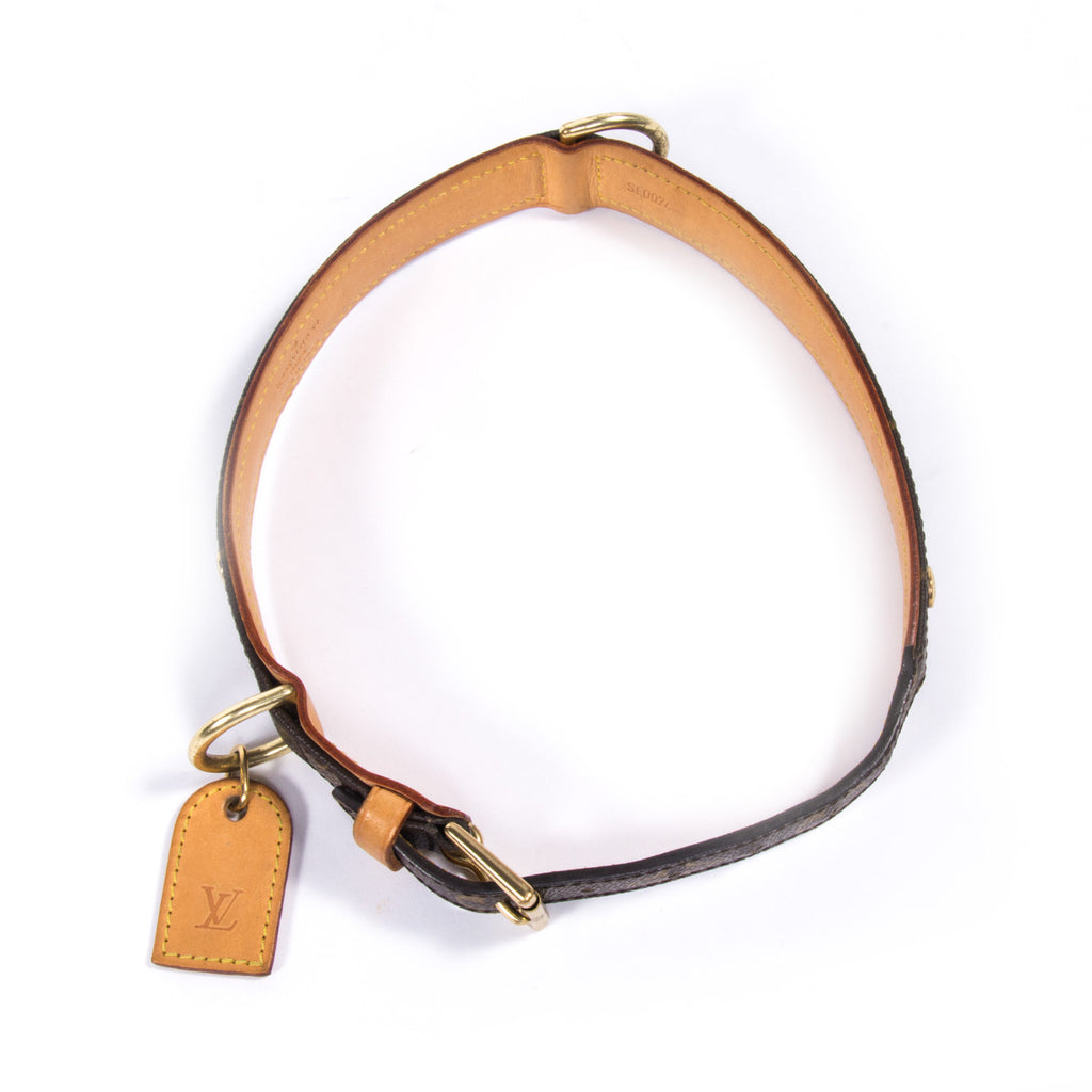 Louis Vuitton Baxter Dog Collar MM - revogue